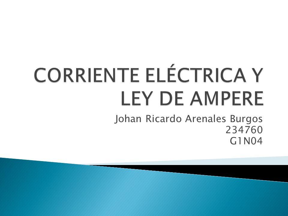 El amperio es la intensidad de corriente eléctrica que hace pasar por una sección determinada de un conductor eléctrico la carga de 1 culombio en el tiempo de 1 segundo.