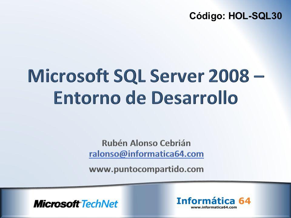 Código: HOL-SQL30
