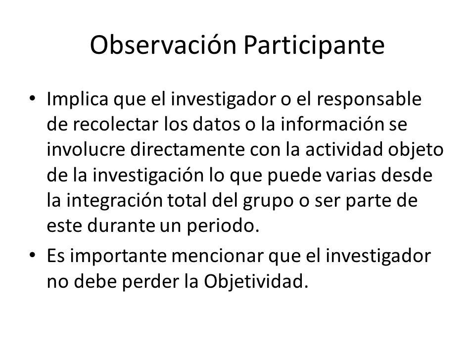 La Observación Es el registro visual de lo que ocurre en una situación real, clasificando y consignando los acontecimientos pertinentes de acuerdo con algún esquema previsto y según el problema que se estudia.