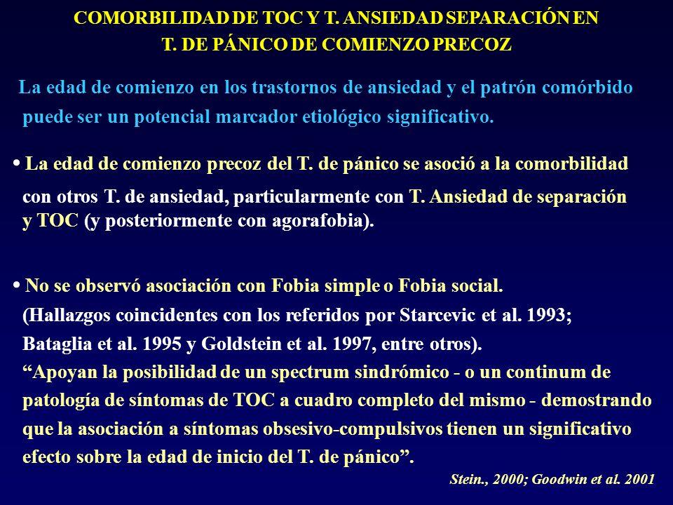 COMORBILIDAD DE TOC Y T.ANSIEDAD SEPARACIÓN EN T.