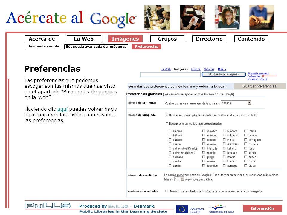 La Web Imágenes Produced by, Denmark.