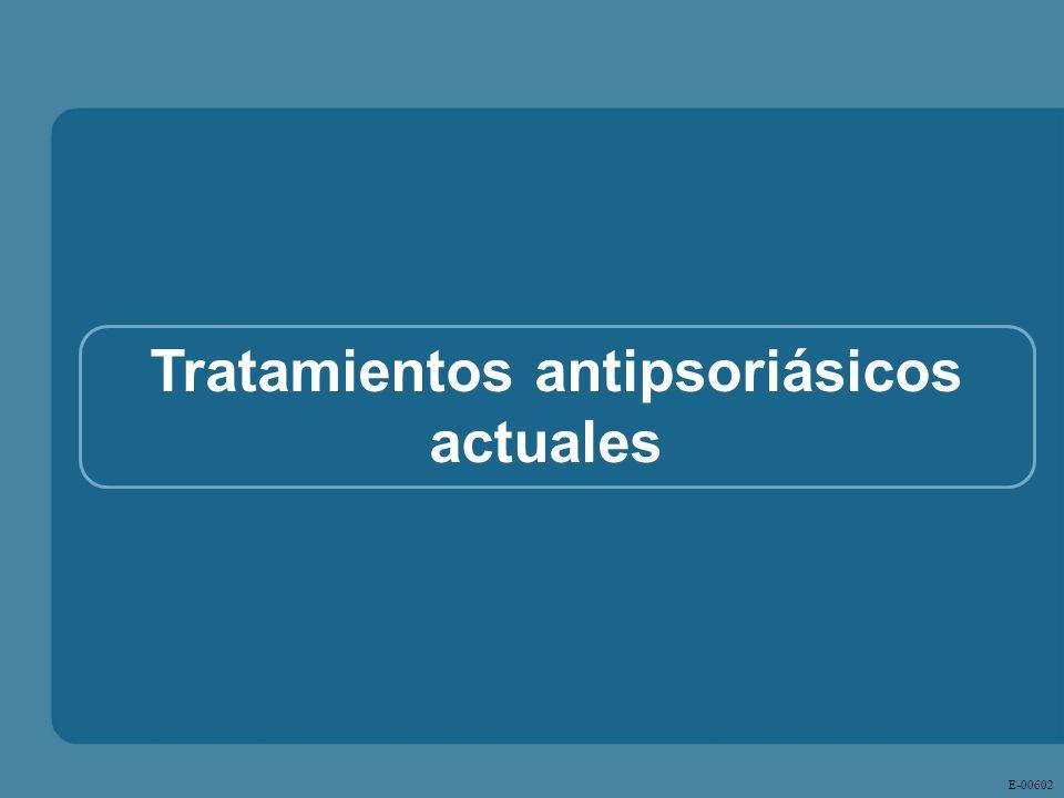 E - 00602 Tratamientos antipsoriásicos actuales