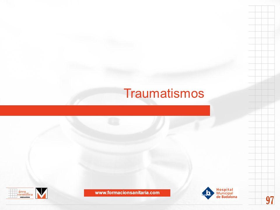 www.formacionsanitaria.com Traumatismos 97