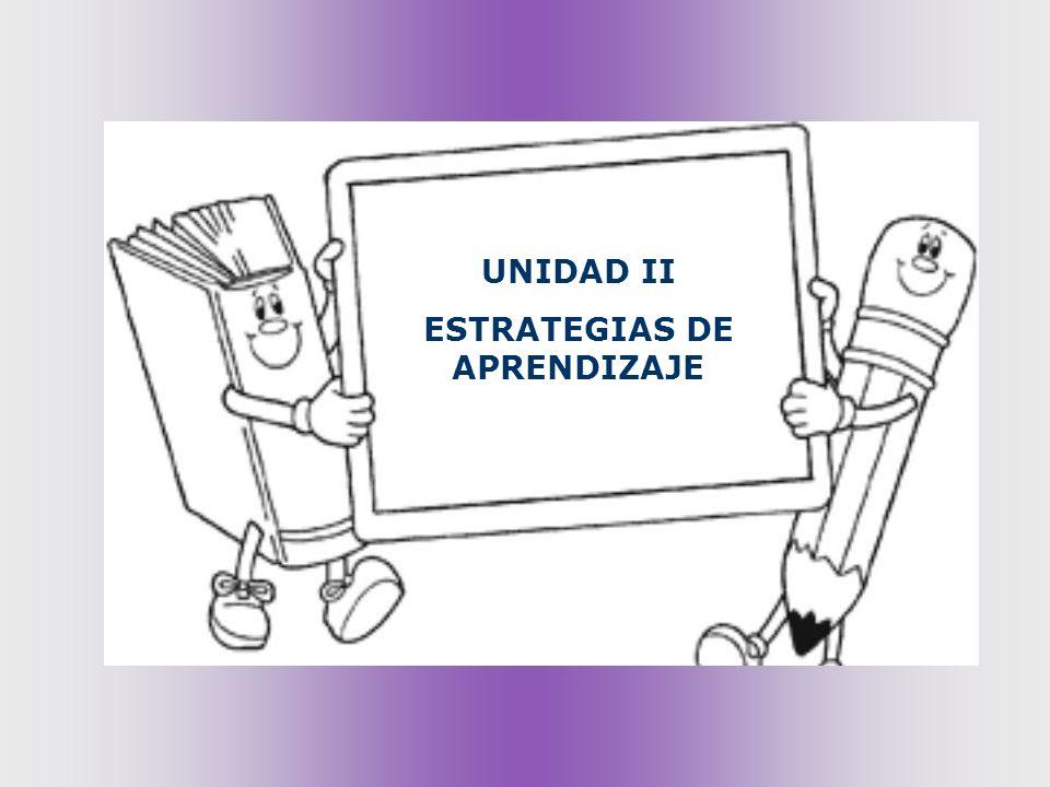 U2 ESTRATEGIAS DE APRENDIZAJE Rasgos característicos de las EA: La aplicación de las estrategias es controlada y no automática; requieren necesariamente de una toma de decisiones, de una actividad previa de planificación y de un control de su ejecución.