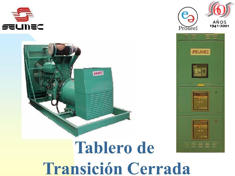 Plantas Eléctricas de Emergencia SELMEC Tablero de Transición Cerrada SELMEC Tel: 943-13-23 E-Mail: E-Mail:proseelmerida@hotmail.com. Celular: 92-32-2