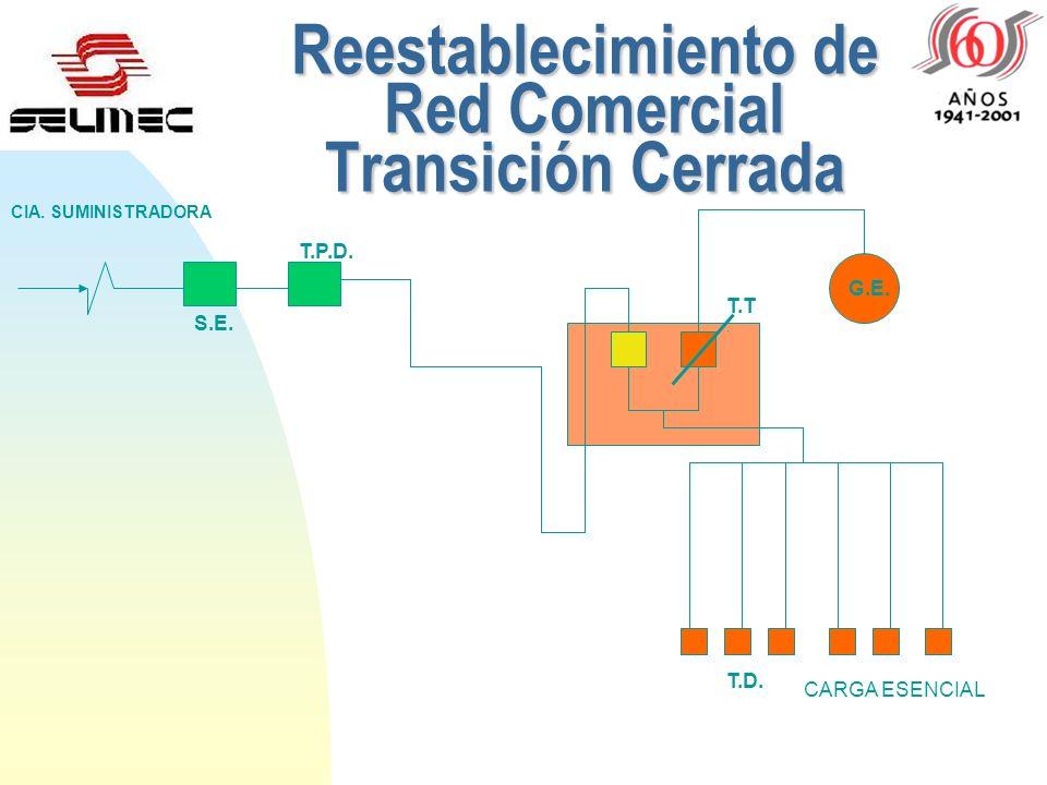 PlantadeEmergencia Transición Cerrada Planta de Emergencia Transición Cerrada S.E. T.P.D. CIA. SUMINISTRADORA G.E. T.T. T.D. CARGA ESENCIAL