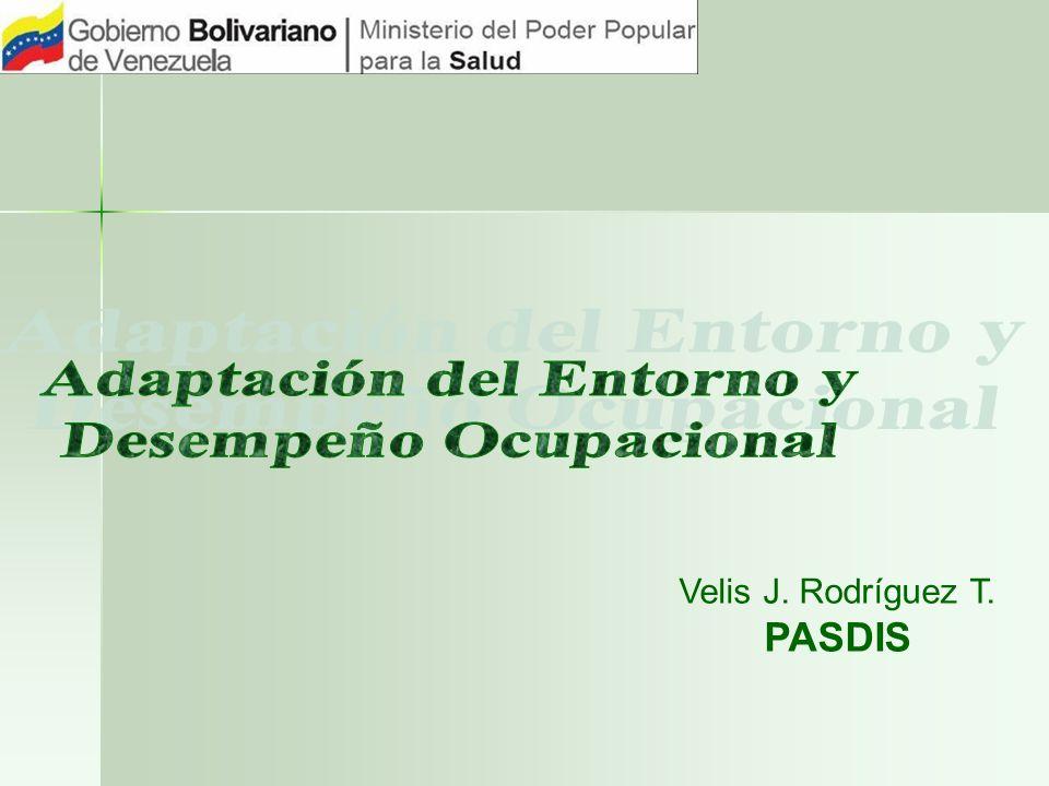 Velis J. Rodríguez T. PASDIS