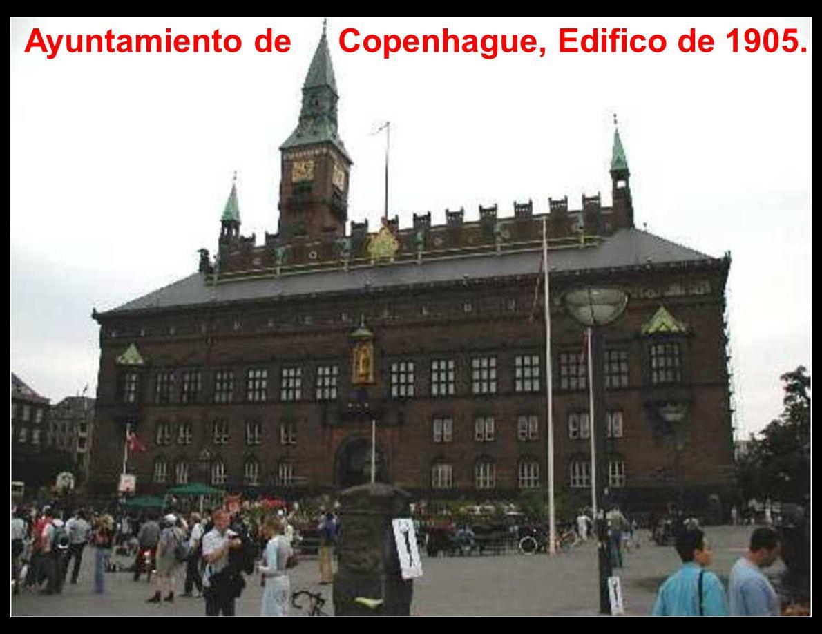 Se encuentra ubicada en la isla de Selandia y, en parte, en la isla de Amager. Actualmente es la sede del Parlamento y de la Monarquía danesa. Copenha