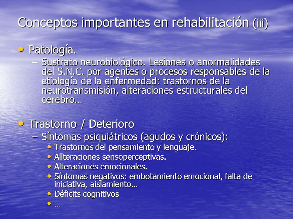 Patología.Patología. –Sustrato neurobiológico. Lesiones o anormalidades del S.N.C.
