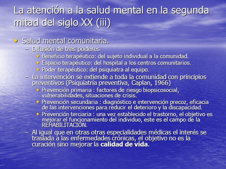 Salud mental comunitaria.Salud mental comunitaria.