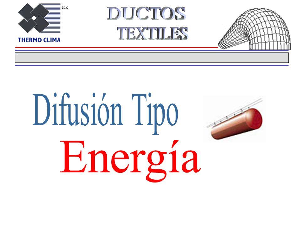 Difusión tipo Impulsión Ventajas de un Sistema tipo Impulsión * Una mayor eficiencia en la cantidad de aire renovado en las salas de mediana altura pe
