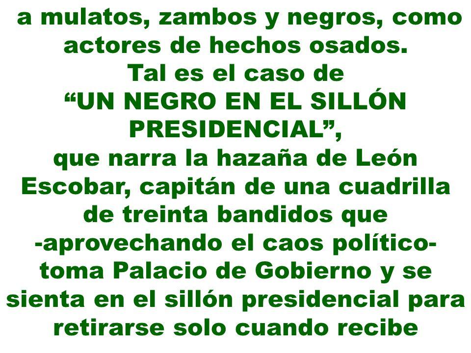BIBLIOTECARIO MENDIGO Palma fue un liberal y participó en una fallida conjura contra el presidente Ramón Castilla.