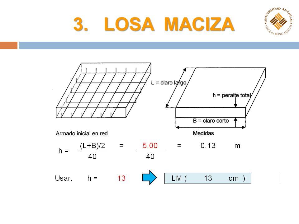 4. LOSA RETICULAR Capa de compresión 5 cm