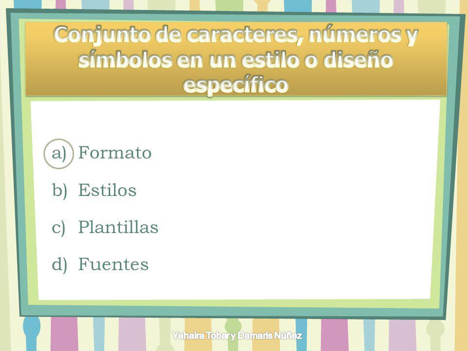 a)Grupos b)Comandos c)Fichas