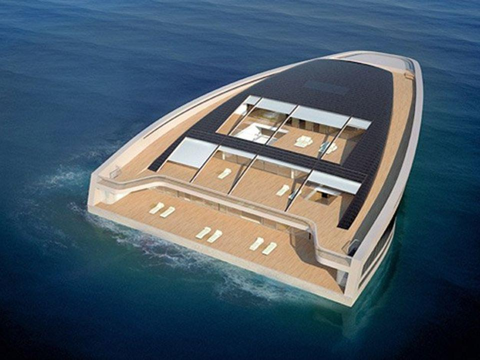 Una famosa compañía constructora de yates de Francia, y otra empresa similar de Mónaco, unieron sus manos para construir este maravilloso yate. Una fa
