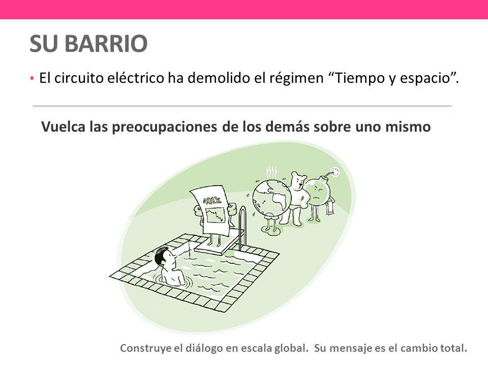 SU BARRIO El circuito eléctrico ha demolido el régimen Tiempo y espacio.