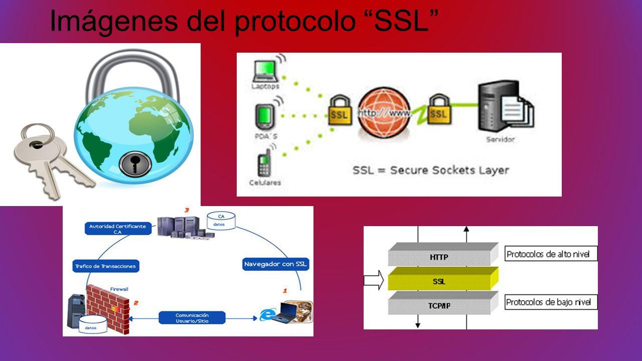 Imágenes del protocolo SSL