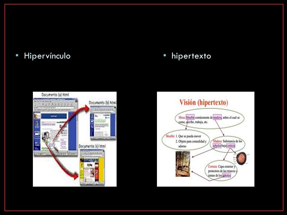 Hipervínculo hipertexto