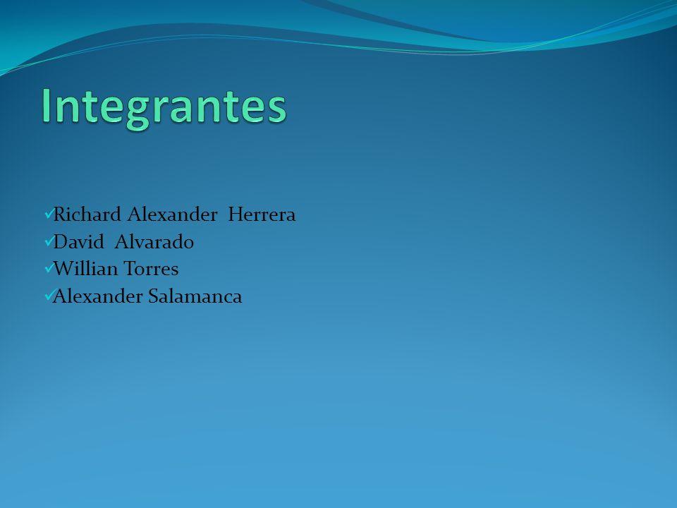 Richard Alexander Herrera David Alvarado Willian Torres Alexander Salamanca