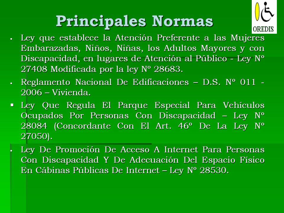 ley que establece las normas minimas: