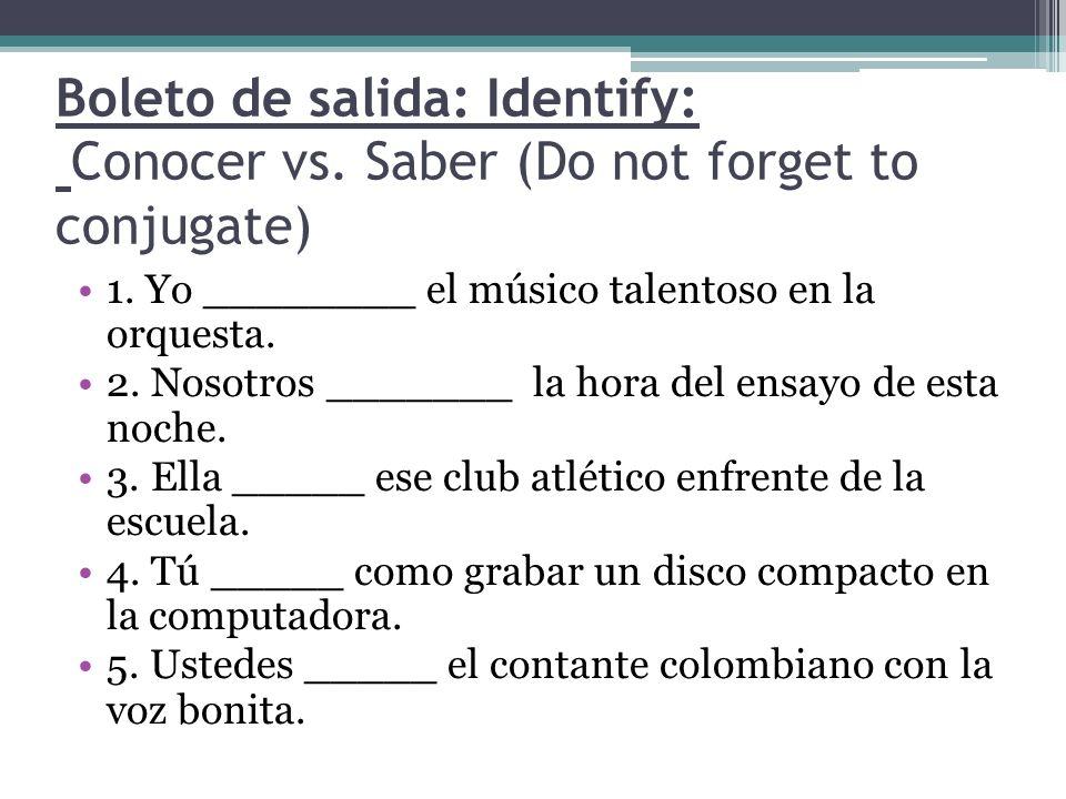 Hoy es jueves 14 de noviembre Hagan Ahora: Use the correct form of Tanto and do not forget to conjugate tener.