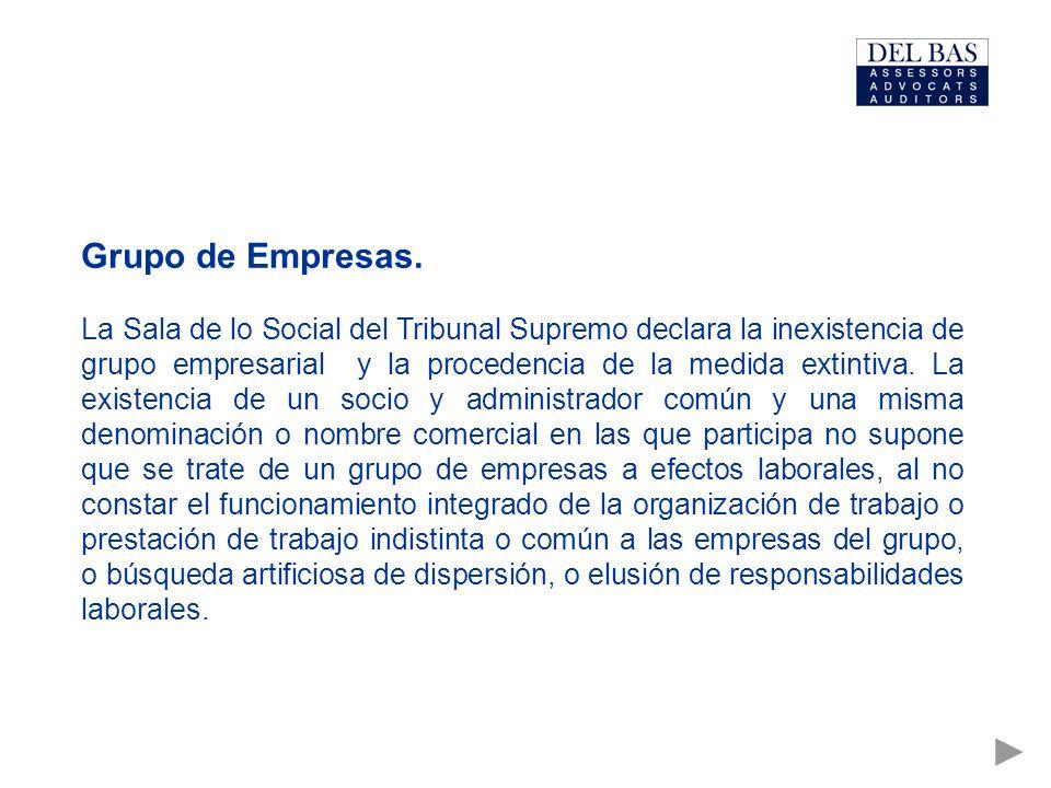 Grupo de Empresas.