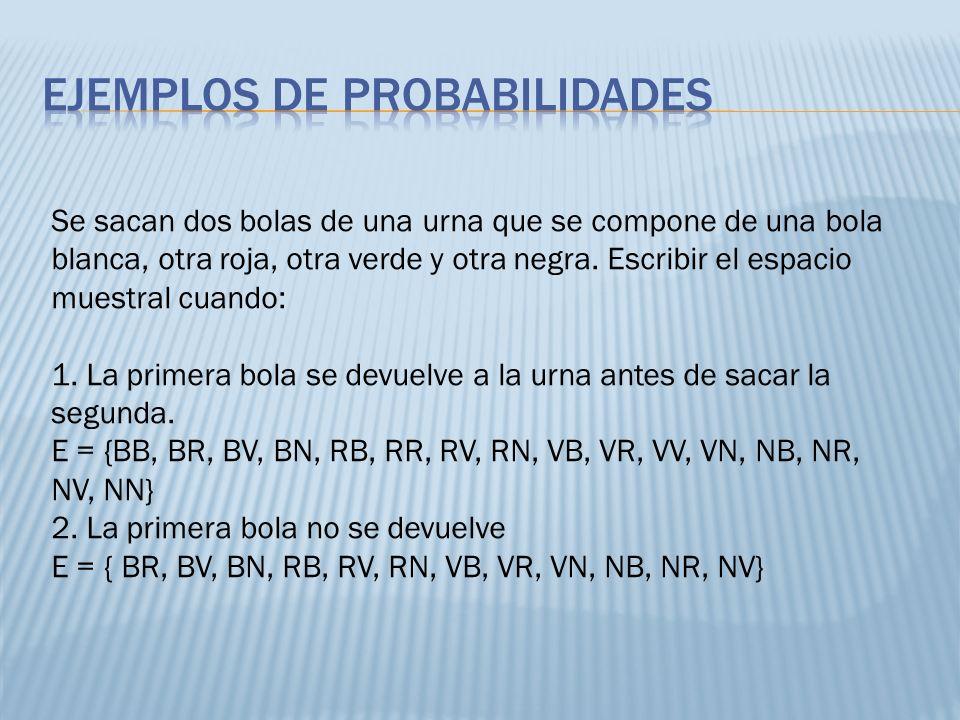 Un dado está trucado, de forma que las probabilidades de obtener las distintas caras son proporcionales a los números de estas.