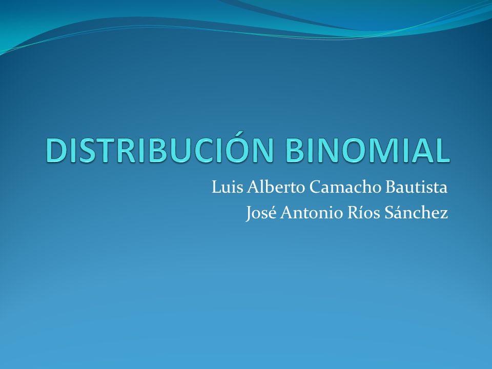 Luis Alberto Camacho Bautista José Antonio Ríos Sánchez