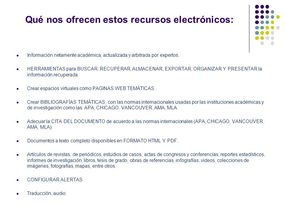 DISEÑO DE ESTRATEGIAS DE BÚSQUEDAS DE INFORMACIÓN EN LAS BASES DE DATOS SUSCRITAS POR LA UCV Ponentes: Esp.