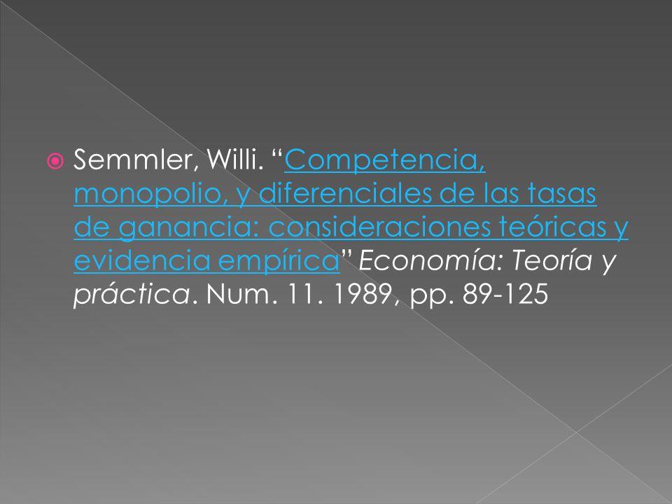 Semmler, Willi.