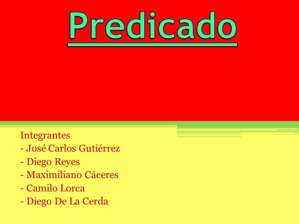 Integrantes - José Carlos Gutiérrez - Diego Reyes - Maximiliano Cáceres - Camilo Lorca - Diego De La Cerda