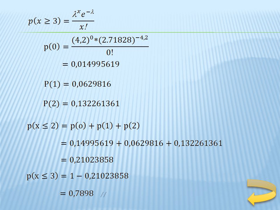 En la distribución binomial, si n es grande y la probabilidad p de ocurrencia de un suceso es muy pequeña, de modo que q = 1 – p es casi 1, el suceso se llama un suceso raro.