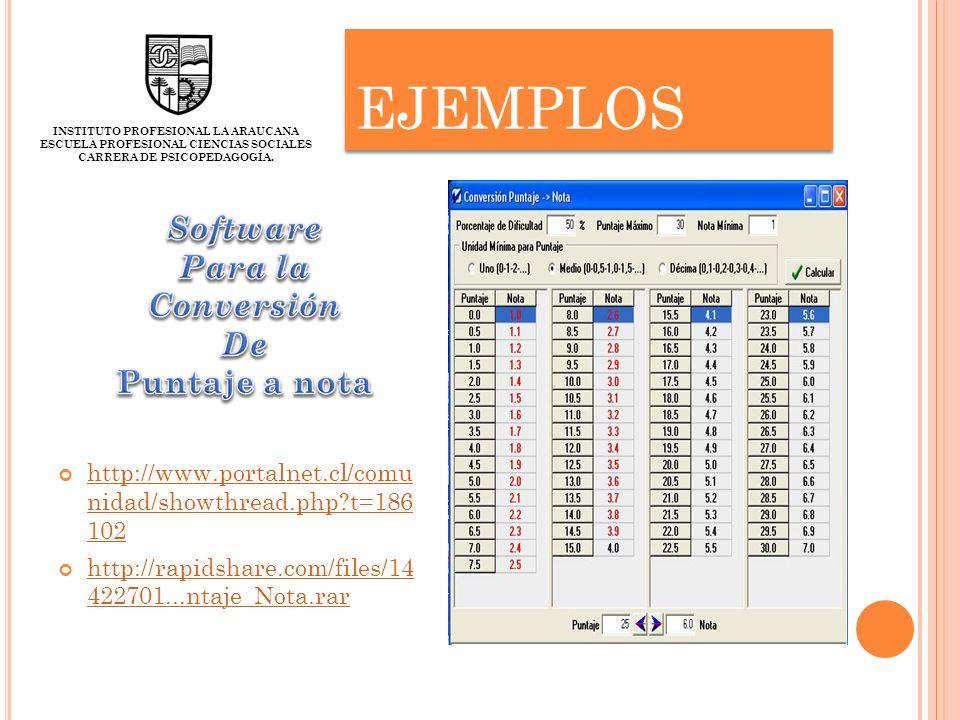 EJEMPLOS http://www.portalnet.cl/comu nidad/showthread.php?t=186 102 http://www.portalnet.cl/comu nidad/showthread.php?t=186 102 http://rapidshare.com
