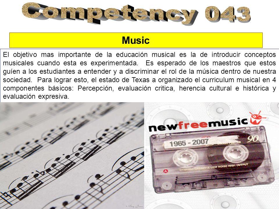 El objetivo mas importante de la educación musical es la de introducir conceptos musicales cuando esta es experimentada. Es esperado de los maestros q