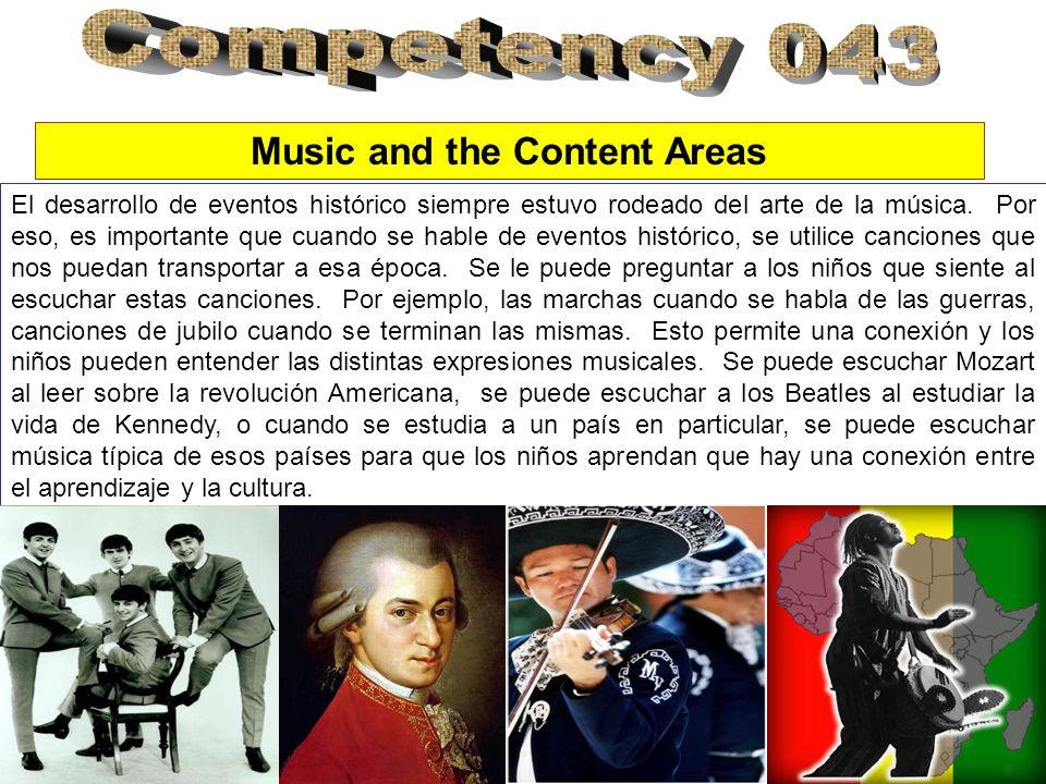 El desarrollo de eventos histórico siempre estuvo rodeado del arte de la música. Por eso, es importante que cuando se hable de eventos histórico, se u