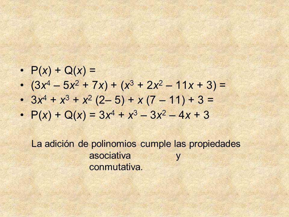 El polinomio cero es el número 0, pues sumado con cualquier polinomio no lo altera, por lo que es el elemento neutro de la suma.