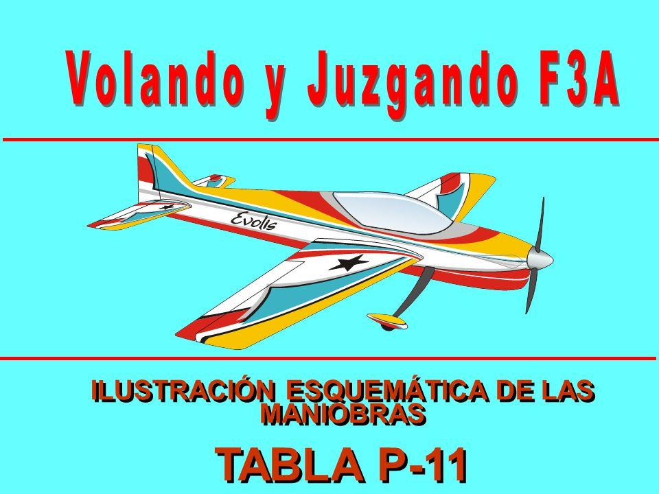 ILUSTRACIÓN ESQUEMÁTICA DE LAS MANIOBRAS TABLA P-11 ILUSTRACIÓN ESQUEMÁTICA DE LAS MANIOBRAS TABLA P-11
