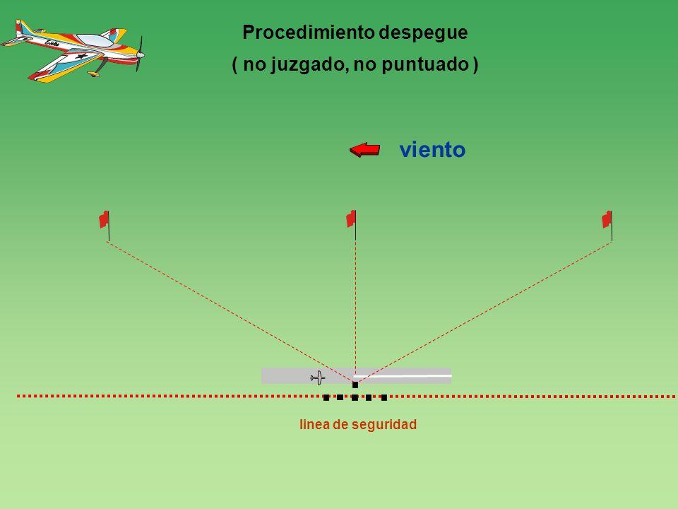 120 0 linea de seguridad viento 4 Procedimiento despegue ( no juzgado, no puntuado )