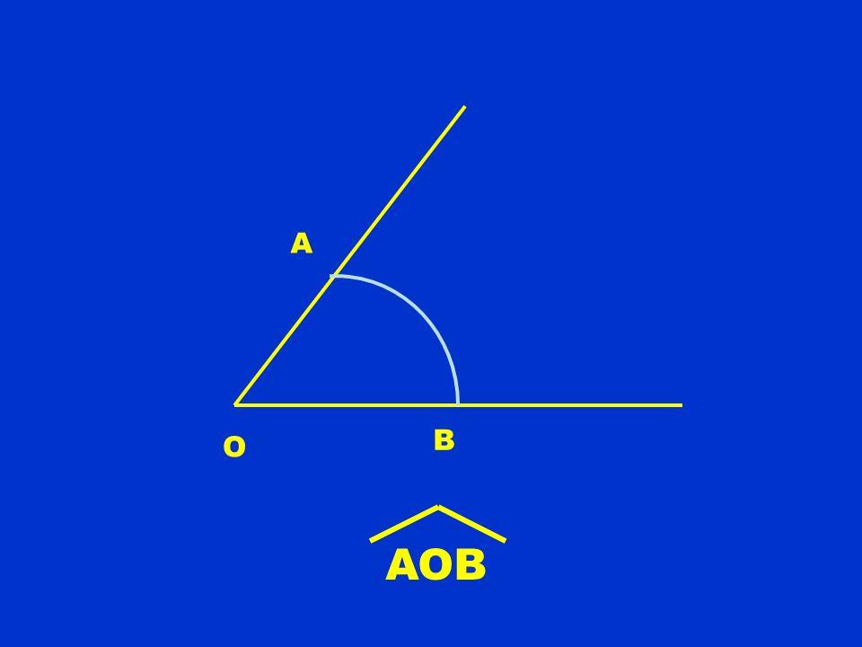 O A B AOB