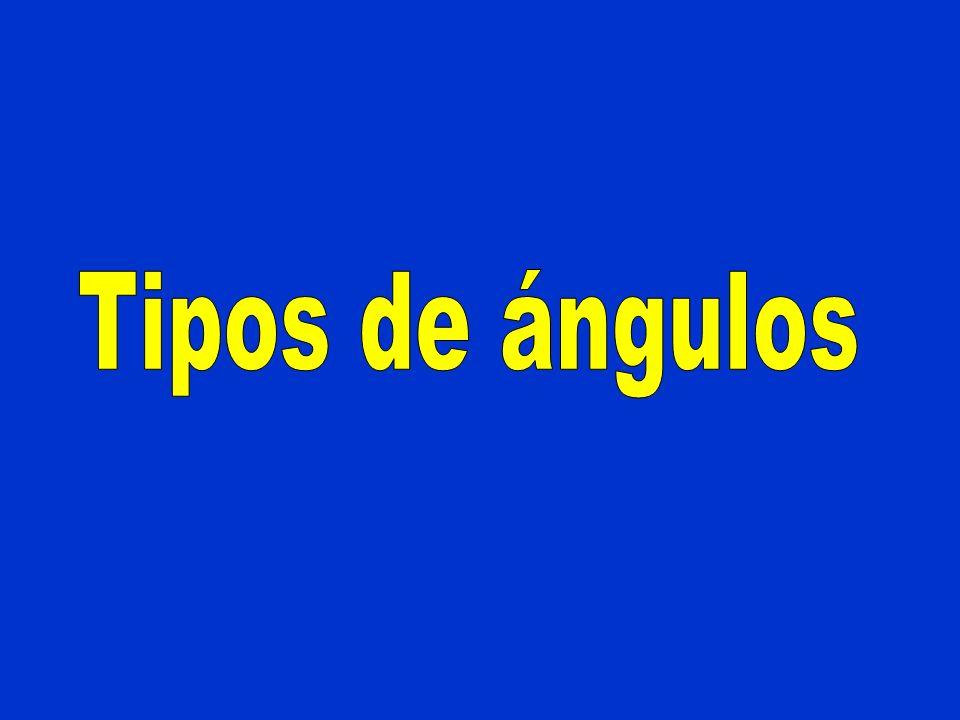 ÁNGULO RECTO a b Rectas perpendiculares Ángulo recto es el que tiene sus lados perpendiculares.