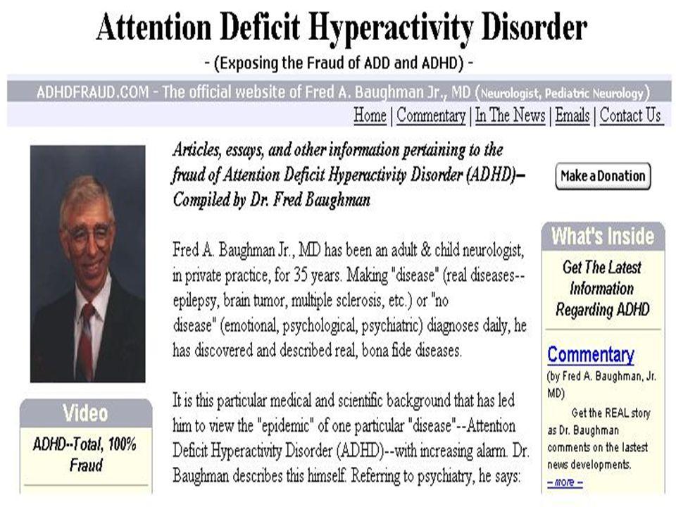 08/05/201414 TDHA: No se puede diagnosticar por la observación en consulta No se puede diagnosticar por la observación en consulta Paciente son poco c