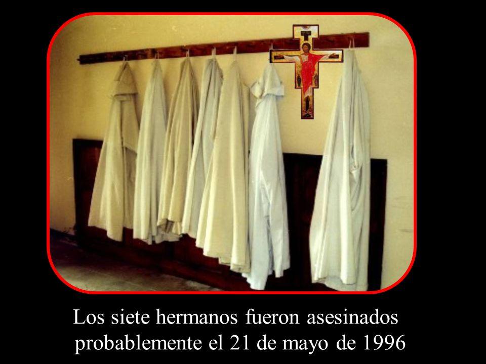 Los siete hermanos fueron asesinados probablemente el 21 de mayo de 1996