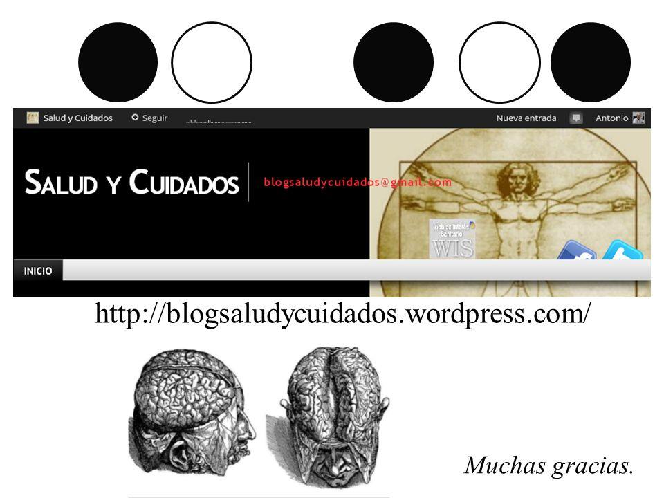 http://blogsaludycuidados.wordpress.com/ Muchas gracias.