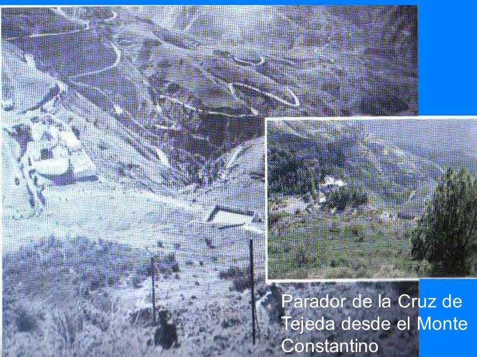 Parador de la Cruz de Tejeda desde el Monte Constantino