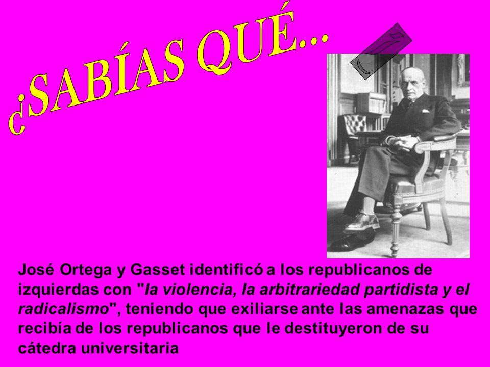 el 29 de octubre de 1936 fue fusilado por los republicanos en Aravaca, el escritor de la Generación del 98 Ramiro de Maeztu. Sus últimas palabras fuer