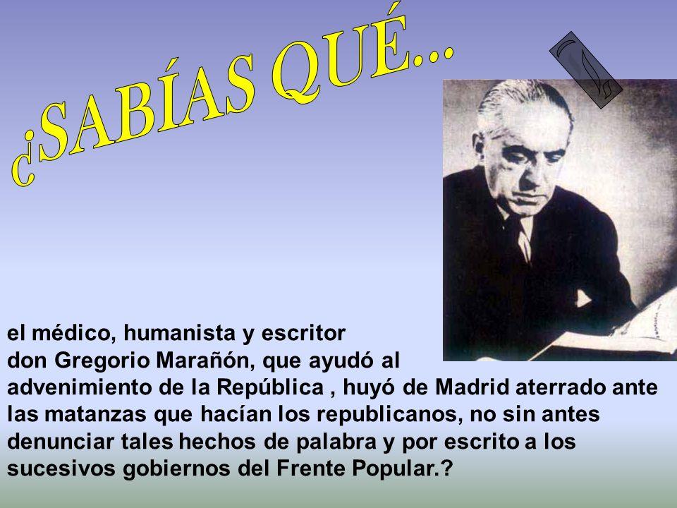 José Ortega y Gasset identificó a los republicanos de izquierdas con