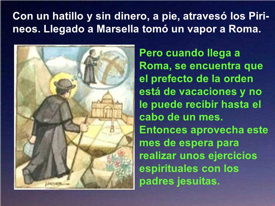 Por eso, los horizontes de una parroquia no satisfacían el ansia apostólica del P. Claret. Consultó y decidió ir a Roma a inscribirse en
