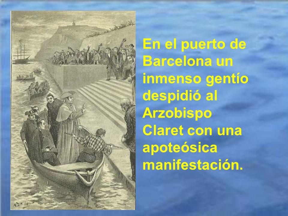 Antes de embarcarse para Cuba y después de ir a Madrid a recibir el palio y la gran cruz de Isabel la Católica efectuó tres visitas: a la Virgen del P