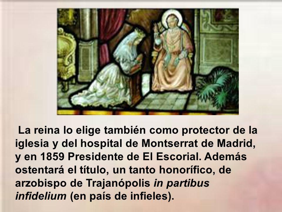 Debe acudir semanalmente al menos a la Corte a ejercer su ministerio de confesor y a cuidarse de la educación cristiana del príncipe Alfonso y de las
