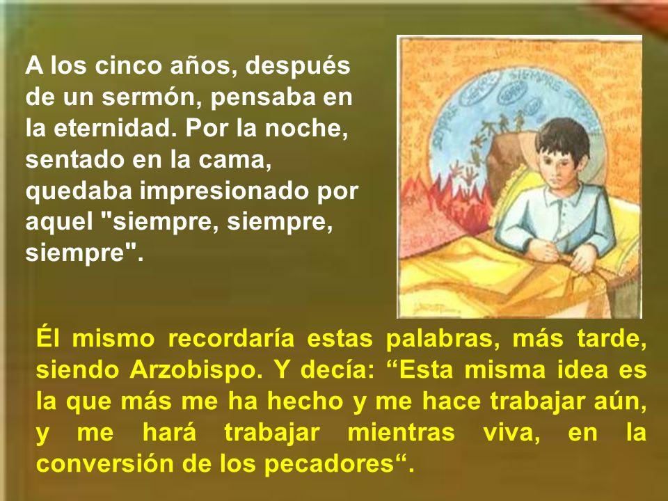 Desde niño, la devoción y el amor a la Santísima Virgen marcaron la vida de San Antonio.